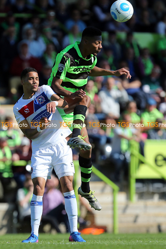 Corey Whitely of Dagenham and Redbridge during Forest Green Rovers vs Dagenham & Redbridge, Vanarama National League Play-Off Football at The New Lawn on 7th May 2017
