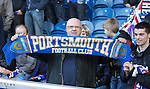 Support for Rangers at Ibrox from fellow crisis club Portsmouth
