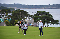 Nick Taylor (CAN) looks over his approach shot on 11 during round 3 of the 2019 US Open, Pebble Beach Golf Links, Monterrey, California, USA. 6/15/2019.<br /> Picture: Golffile | Ken Murray<br /> <br /> All photo usage must carry mandatory copyright credit (© Golffile | Ken Murray)