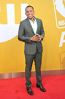 www.acepixs.com<br /> June 26, 2017  New York City<br /> <br /> Hill Harper attending the 2017 NBA Awards live on TNT on June 26, 2017 in New York City.<br /> <br /> Credit: Kristin Callahan/ACE Pictures<br /> <br /> <br /> Tel: 646 769 0430<br /> Email: info@acepixs.com