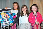 Cousins Karenna Sheehan, Doireann Morgan and Michaela Hayes, Ballymac enjoying the Hannah Montana concert at the Fels Point Hotel on Saturday.