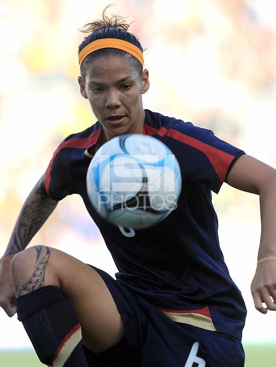 Natasha Kai. The USA defeated Australia, 5-4, in an international friendly at Legion Field in Birmingham, Alabama on May 3, 2008.