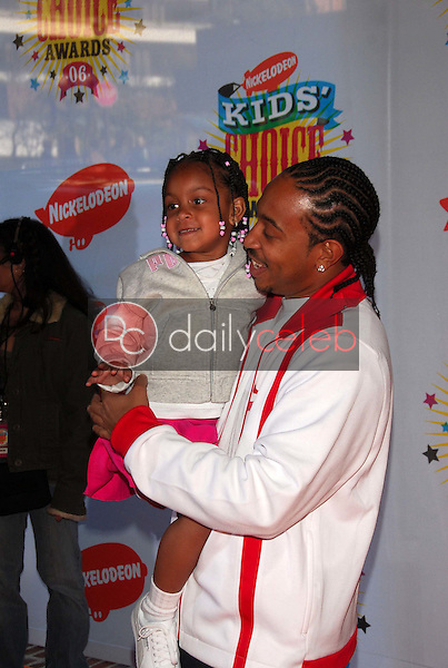 Ludacris and daughter<br />at Nickelodeon's 19th Annual Kids' Choice Awards. Pauley Pavilion, Westwood, CA. 04-01-06<br />Dave Edwards/DailyCeleb.com 818-249-4998