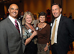 Rick and Melissa Noriega with Margaret and Mark Kollmorgen at the City of Houston's Birthday Bash at the George R. Brown Convention Center Tuesday Aug. 19,2008.(Dave Rossman/For the Chronicle)
