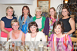 BIRTHDAY: Martina Colgan, St Brendan's Park, Tralee (seated centre) celebrated her birthday last Saturday night by dining in Bella Bia restaurant, Tralee with some friends, also seated is Phil Quirke (left) and Fiona Kelly (right). Back l-r: Siobhan Nuallain, Eileen Whelan, Liz Heaslip, Hylda Maher and Emma Joy.