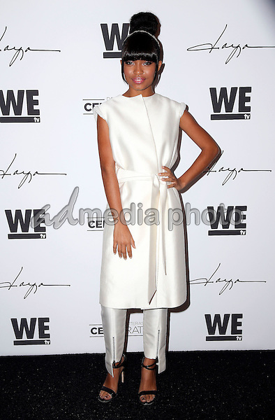 "29 January 2016 - Hollywood, California - Yara Shahidi. ""Daya"" By Zendaya Shoe Line Launch Party to be featured on an upcoming episode of WE tv's David Tutera's CELEBrations held at Raleigh Studios. Photo Credit: Parisa Michelle/AdMedia"