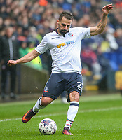 Bolton Wanderers' Filipe Morais in action<br /> <br /> Photographer Alex Dodd/CameraSport<br /> <br /> The EFL Sky Bet League One - Bolton Wanderers v Northampton Town - Saturday 18th March 2017 - Macron Stadium - Bolton<br /> <br /> World Copyright &copy; 2017 CameraSport. All rights reserved. 43 Linden Ave. Countesthorpe. Leicester. England. LE8 5PG - Tel: +44 (0) 116 277 4147 - admin@camerasport.com - www.camerasport.com
