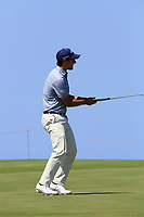 Matteo Manassero (ITA) during the third round of the Rocco Forte Sicilian Open played at Verdura Resort, Agrigento, Sicily, Italy 12/05/2018.<br /> Picture: Golffile   Phil Inglis<br /> <br /> <br /> All photo usage must carry mandatory copyright credit (&copy; Golffile   Phil Inglis)