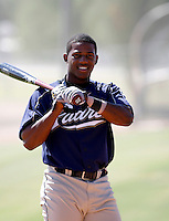 Rymer Liriano / San Diego Padres 2008 Instructional League..Photo by:  Bill Mitchell/Four Seam Images