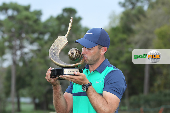 Charl Schwartzel  (RSA) Champion , after The Final Round  of the Valspar Championship, at the  Innisbrook Resort, Palm Harbor,  Florida, USA. 13/03/2016.<br /> Picture: Golffile | Mark Davison<br /> <br /> <br /> All photo usage must carry mandatory copyright credit (&copy; Golffile | Mark Davison)