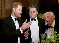 04 April 2019 - Prince Harry Duke of Sussex, Sir David Attenborough at Our Planet Global Premiere held at the Natural History Museum in London. Photo Credit: ALPR/AdMedia