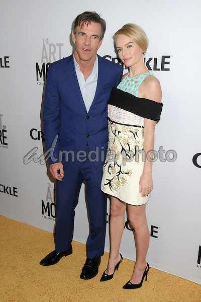 """29 October 2015 - Culver City, California - Dennis Quaid, Kate Bosworth. """"The Art Of More"""" Series Premiere held at Sony Pictures Studios. Photo Credit: Byron Purvis/AdMedia"""