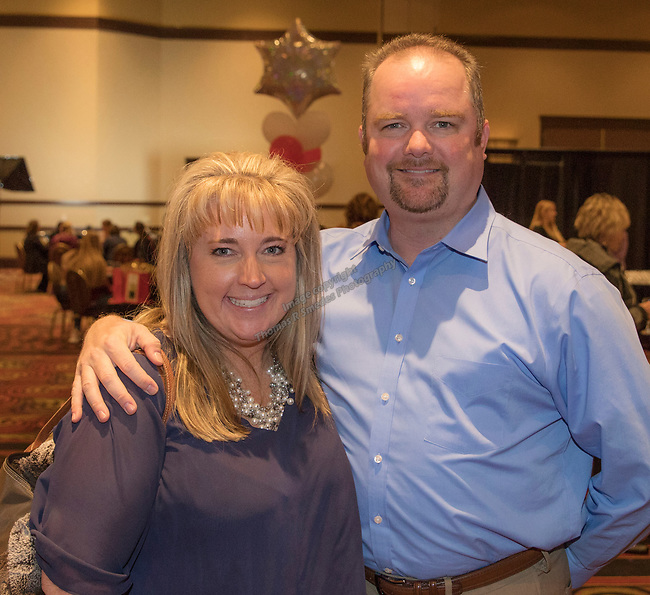 Sandy and Matt Gaines during the 10th Annual Power of the Purse held on Friday night, Nov. 17, 2017 in the Reno Ballroom in downtown Reno.