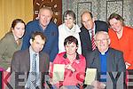 Castleisland Parish Council who have launched a survey amongst their parishioners front row l-r: Jack Shanahan, Sheila McSweeney, Minsignor Dan O'Riordan. Back row: Martina O'Donoghue, John Flahery, Mary McGaley, John Breen and Marie Nelligan