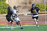 San Diego, CA 05/25/13 - John Rankin (Westview #4) and Dylan Harris (Carlsbad #4) in action during the 2013 Boys Lacrosse San Diego CIF DIvision 1 Championship game.  Westview defeated Carlsbad 8-3.