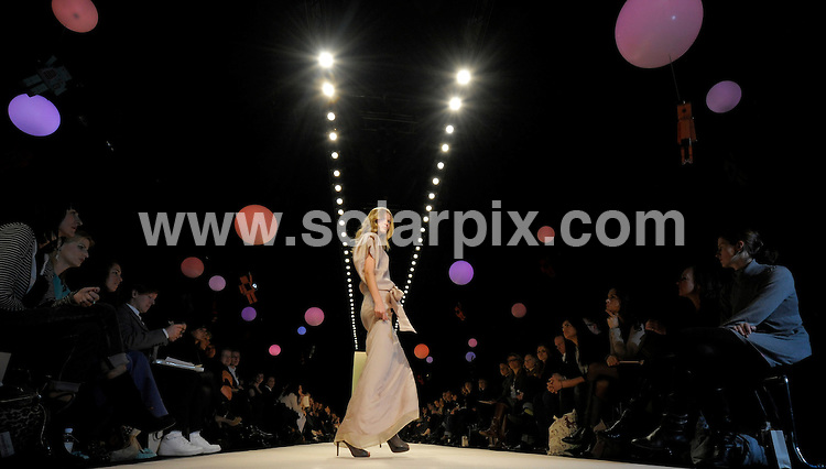 **ALL ROUND PICTURES FROM SOLARPIX.COM**.**SYNDICATION RIGHTS FOR UK AND SPAIN ONLY**.the 'Schumacher' collection Autumn / Winter 2009 Fashion Show, part of the 2009 Mercedes-Benz Fashion Week in Berlin, Germany. 29 January 2009..This pic: Schumacher catwalk show..JOB REF: 8355 CPR (Gottschalk/ddp)        .DATE: 29_01_2009.**MUST CREDIT SOLARPIX.COM OR DOUBLE FEE WILL BE CHARGED* *ONLINE USAGE FEE £50.00 PER PICTURE - NOTIFICATION OF USAGE TO PHOTO@SOLARPIX.COM*