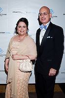 Dania Cuesta and Ernesto Cuesta attend The Boys and Girls Club of Miami Wild About Kids 2012 Gala at The Four Seasons, Miami, FL on October 20, 2012
