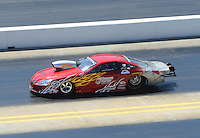 Apr. 14, 2012; Concord, NC, USA: NHRA pro stock driver John Gaydosh during qualifying for the Four Wide Nationals at zMax Dragway. Mandatory Credit: Mark J. Rebilas-