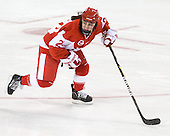 Taylor Holze (BU - 24) - The visiting Boston University Terriers defeated the Boston College Eagles 1-0 on Sunday, November 21, 2010, at Conte Forum in Chestnut Hill, Massachusetts.