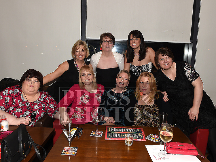 Ladies from The Breakfast Book Club pictured at their Christmas party in Brú. Photo:Colin Bell/pressphotos.ie