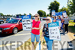 Catherine O'Sullivan, Rathmore and Chrissie McLoughlin, Causeway Members of the Irish Nurses and Midwives Organisation (INMO) working in the Emergency Department (ED) held lunchtime protest at University Hospital Kerry on Tuesday.
