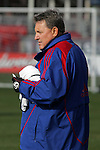 19 November 2010:  John Ellinger, Assistant Coach of the FC Dallas. . FC Dallas held a practice at Toronto, Ontario, Canada as part of their preparations for MLS Cup 2010, Major League Soccer's championship game.