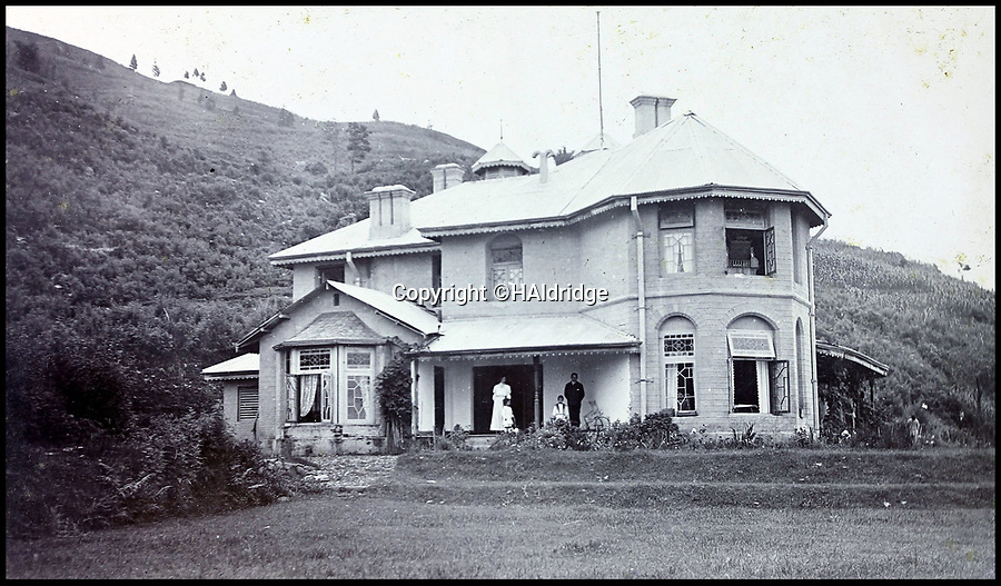 BNPS.co.uk (01202 558833)Pic: HAldridge/BNPS<br /> <br /> MacGregor's home in Kalimpong.<br /> <br /> Game tales from the hills...remarkable album shows British attempts to win over newly invaded Tibet by playing sport's straight from the playing fields of England.<br /> <br /> A collection of photos have come to light which show the people of the remote Himalayan nation of Tibet embracing one of the traditional British pastimes - a sports day.<br /> <br /> The archive of more than 500 photos was collated by a British Lieutenant Colonel, R C MacGregor, of the Indian Medical Service, who was present in Tibet between 1904 and 1912.<br /> <br /> These photos are one of the earliest examples of the British attempting to win 'the hearts and minds' of a native population as they were taken during the controversial Younghusband expedition to the distant Buddhist country.<br /> <br /> The archive also features four never before seen photos of the Dalai Lama returning to Tibet in 1912 after his exile ended.