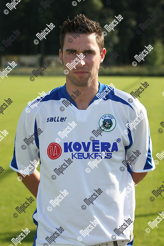 2008-07-23 / Voetbal / seizoen 2008 - 2009 / KSK Heist / Sven Eyckmans..Foto: Maarten Straetemans (SMB)