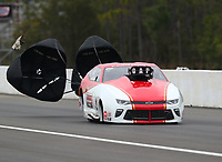 Mar 17, 2019; Gainesville, FL, USA; NHRA pro mod driver Steve Jackson during the Gatornationals at Gainesville Raceway. Mandatory Credit: Mark J. Rebilas-USA TODAY Sports