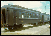 3/4 view passenger car #312. Baggage car #12?<br /> D&amp;RGW