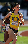 11 JUNE 2010: Anne Kesselring of Oregon runs in the Womens 800 meter run during the Division I Men's and Women's Track and Field Championship held at Hayward Field on the University of Oregon campus in Eugene, OR.  Steve Dykes/NCAA Photos