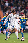 Danilo Luiz Da Silva of Real Madrid in action during their Copa del Rey 2016-17 Quarter-final match between Real Madrid and Celta de Vigo at the Santiago Bernabéu Stadium on 18 January 2017 in Madrid, Spain. Photo by Diego Gonzalez Souto / Power Sport Images