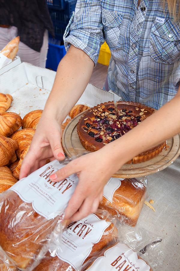 Jackson Hole, Wyoming, USA Persephone Bakery, cafe, bakery farmers market