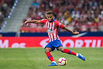 Thomas Lemar of Atletico de Madrid in action during the La Liga 2018-19 match between Atletico de Madrid and Rayo Vallecano at Wanda Metropolitano on August 25 2018 in Madrid, Spain. Photo by Diego Souto / Power Sport Images