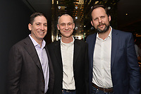 """NEW YORK - APRIL 7: (L-R) Eric Schrier, Joel Fields and Nick Grad attend the screening of FX's """"Fosse Verdon"""" presented by FX Networks, Fox 21 Television Studios, and FX Productions at the Museum of Modern Art on April 7, 2019 in New York City. (Photo by Anthony Behar/FX/PictureGroup)"""