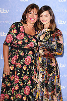 Daisy Goodwin and Jenna Coleman<br /> at the launch of the new series of ITV's &quot;Victoria&quot;, Ham Yard Hotel, London. <br /> <br /> <br /> &copy;Ash Knotek  D3297  24/08/2017