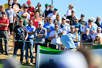 David Hearn (CAN) on the 11th tee during the 2nd round of the Waste Management Phoenix Open, TPC Scottsdale, Scottsdale, Arisona, USA. 01/02/2019.<br /> Picture Fran Caffrey / Golffile.ie<br /> <br /> All photo usage must carry mandatory copyright credit (© Golffile | Fran Caffrey)