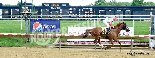 Trace Screen at Delaware Park racetrack on 6/14/14