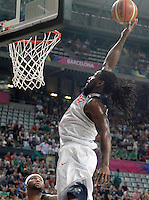 USA's Kenneth Faried during 2014 FIBA Basketball World Cup Round of 16 match.September 6,2014.(ALTERPHOTOS/Acero)