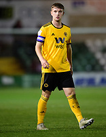 Wolverhampton Wanderers U21's Elliot Watt<br /> <br /> Photographer Chris Vaughan/CameraSport<br /> <br /> The EFL Checkatrade Trophy Northern Group H - Lincoln City v Wolverhampton Wanderers U21 - Tuesday 6th November 2018 - Sincil Bank - Lincoln<br />  <br /> World Copyright © 2018 CameraSport. All rights reserved. 43 Linden Ave. Countesthorpe. Leicester. England. LE8 5PG - Tel: +44 (0) 116 277 4147 - admin@camerasport.com - www.camerasport.com