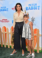 Rachel Roy &amp; Tallulah Ruth Dash at the world premiere for &quot;Peter Rabbit&quot; at The Grove, Los Angeles, USA 03 Feb. 2018<br /> Picture: Paul Smith/Featureflash/SilverHub 0208 004 5359 sales@silverhubmedia.com
