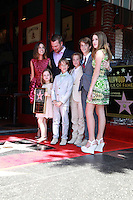 Chris O'Donnell with family<br />