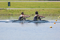 Race: 27  Event: J14 2x  Time Trial<br /> <br /> Junior Sculling Regatta 2018<br /> <br /> To purchase this photo, or to see pricing information for Prints and Downloads, click the blue 'Add to Cart' button at the top-right of the page.