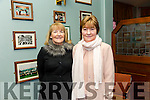 Margaret Short and Eileen Barry at the  'One Wedding And A Funeral' event at at the Na Gaeil GAA  clubhouse on Saturday night