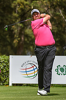 Shane Lowry (IRL) watches his tee shot on 8 during round 2 of the World Golf Championships, Mexico, Club De Golf Chapultepec, Mexico City, Mexico. 2/22/2019.<br /> Picture: Golffile | Ken Murray<br /> <br /> <br /> All photo usage must carry mandatory copyright credit (&copy; Golffile | Ken Murray)