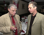 Harvey Aronson and Jeff Schamberry, seen attending the retirement party for John Cornell on October 10, 2000. Photo by Jim Peppler. Copyright/Jim Peppler-2000