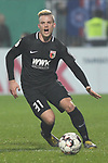 06.02.2019,  GER; DFB Pokal, Holstein Kiel vs FC Augsburg ,DFL REGULATIONS PROHIBIT ANY USE OF PHOTOGRAPHS AS IMAGE SEQUENCES AND/OR QUASI-VIDEO, im Bild Einzelaktion Hochformat  Philipp Max (Augsburg #31)  Foto © nordphoto / Witke