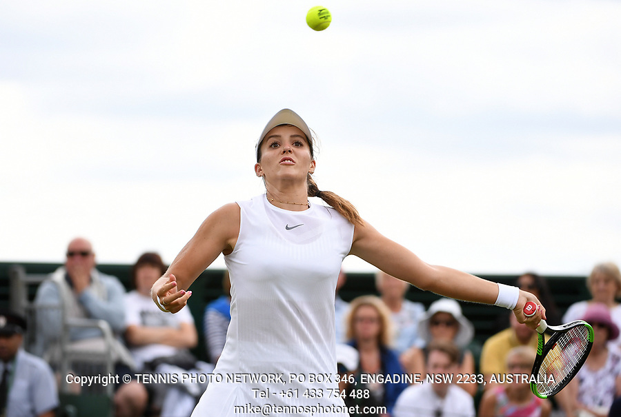 LAURA ROBSON (GBR)<br /> <br /> TENNIS - THE CHAMPIONSHIPS - WIMBLEDON- ALL ENGLAND LAWN TENNIS AND CROQUET CLUB - ATP - WTA -ITF - WIMBLEDON-SW19, LONDON, GREAT  BRITAIN- 2017  <br /> <br /> <br /> &copy; TENNIS PHOTO NETWORK