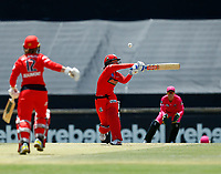 2nd November 2019; Western Australia Cricket Association Ground, Perth, Western Australia, Australia; Womens Big Bash League Cricket, Melbourne Renegades versus Sydney Sixers; Courtney Webb of the Melbourne Renegades plays at a bouncer - Editorial Use