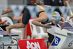 Mine' Nel, AON Swimming New Zealand National Age Group Swimming Championships, National Aquatic Centre, Auckland, New Zealand, Saturday 21 April 2018. Photo: David Rowland/www.bwmedia.co.nz